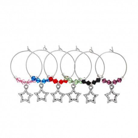 star-strck-wine-charm-set