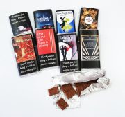Custom printed chocolate wrappers
